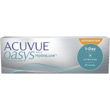 1-DAY ACUVUE Oasis with Hidraluxe for Astigmatism 30pk